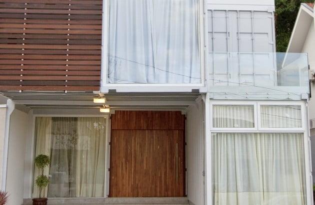 Mais barato e sustentável: conheça uma casa feita de containers em Curitiba